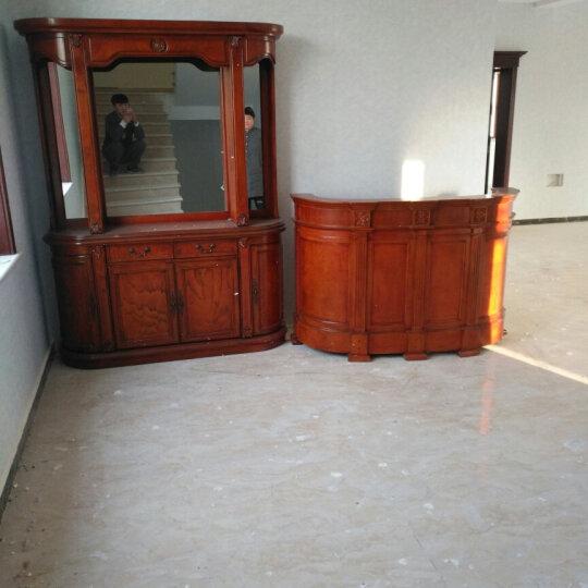 星佳巢 美式实木酒柜 玻璃酒柜 欧式红酒柜 客厅餐边柜组合隔断玄关酒柜 1.6米下柜 晒单图