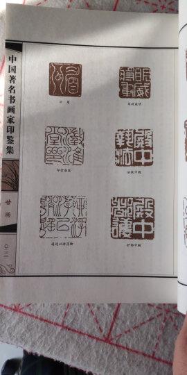 线装典藏:中国著名书画家印鉴集(套装1-4册) 晒单图