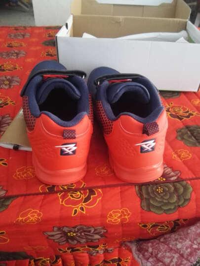 彼得潘 男童鞋 新款儿童运动鞋休闲鞋P8067 深蓝红 35码/22.6cm 晒单图