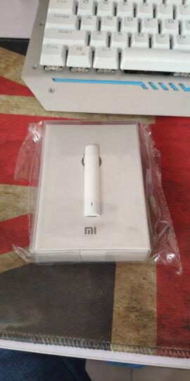 小米(MI)蓝牙耳机青春版 白色 挂耳式无线运动 通用耳塞 晒单图