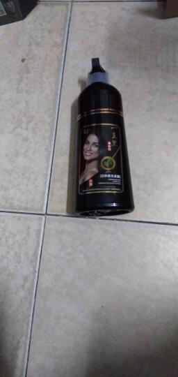 贝维诗(leiws) 一洗黑洗发水 植物纯自然 染头发 清水黑发 白发 染发剂男 染发膏 男士染发 一支黑320ml 晒单图