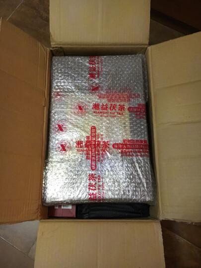 湘益湖南安化黑茶金花茶 湘益茯茶 益阳茶厂新一品茯茶1kg 一品茯茶1kg 晒单图