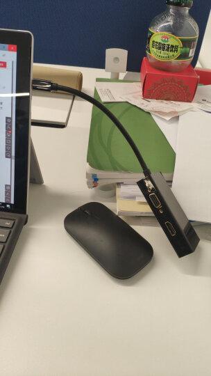 绿联(UGREEN)Mini DP转HDMI/VGA二合一转换器线 Surface扩展坞雷电接口苹果Mac电脑转接电视显示器黑 10439 晒单图