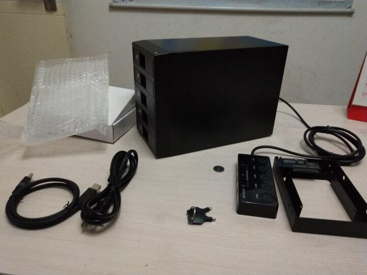 世特力(Century) 裸族CRCH535U3ISC 3.5英寸SATA五盘位硬盘外置盒USB3 CRCH2535U3IS 晒单图