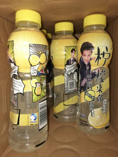 脉动(Mizone)柠檬来的 自由柠檬口味 复合果汁饮料 500ML*15瓶 整箱装 晒单图