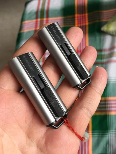 台电(Teclast)64GB USB3.0 U盘 锋芒 深空灰 USB推拉保护 金属车载优盘 晒单图