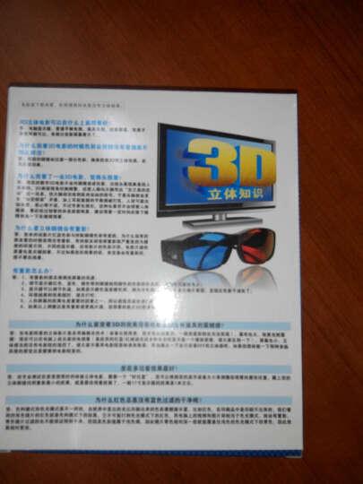 锐盾左右红蓝3d眼镜夹片近视3d立体眼镜三D手机电脑专用QQ影音4副套装 晒单图