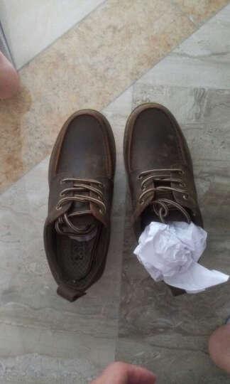 走索(Z.Suo)男鞋休闲鞋复古韩版男靴子英伦马丁靴户外 疯马棕 40标准皮鞋码 晒单图