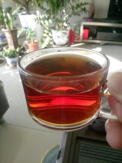 七彩云南 茶叶 普洱茶 普洱茶熟茶 名门普洱散茶 200g 晒单图