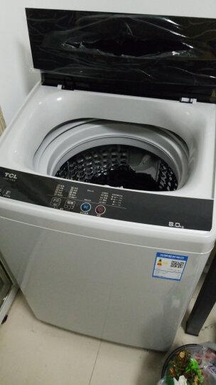 TCL 8公斤 全自动波轮洗衣机 金属机身 一键脱水 智能模糊控制 护衣内筒(亮灰色)XQB80-1578NS 晒单图