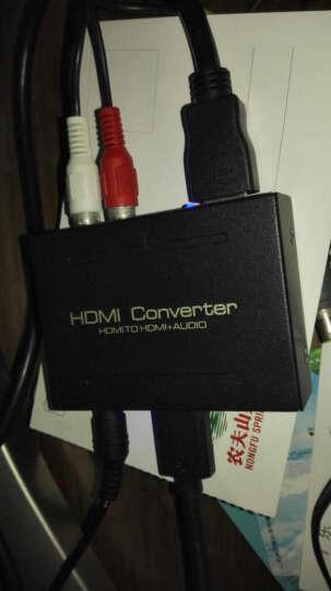 机白金 转换器 HDMI转HDMI+光纤 RL音频分离器5.1输出DTS转换器 晒单图
