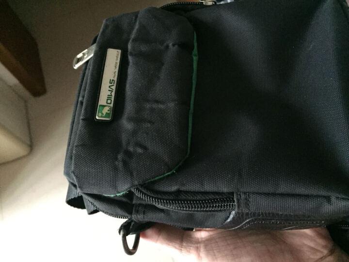 爱华仕(OIWAS)单肩包男包 时尚商务休闲斜挎包 IPAD电脑包 5415黑色 晒单图