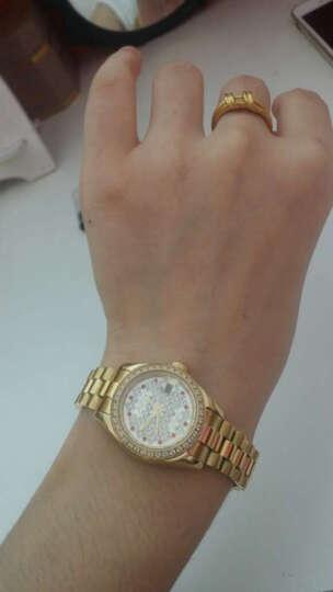 金仕盾(JSDUN)满天星手表 时尚女表水钻表女士手表机械表 镶钻商务防水夜光金表8737 满天星女表 晒单图