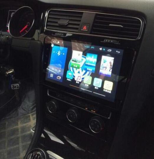新桑塔纳车机汽车倒车影像车载导航一体机 高通4g/wifi版+自主安装