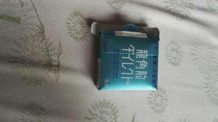 日本原装进口龙角散润喉糖清咽利喉缓解喉咙痛龙角散糖缓解咳嗽 薄荷味 16条/盒 晒单图