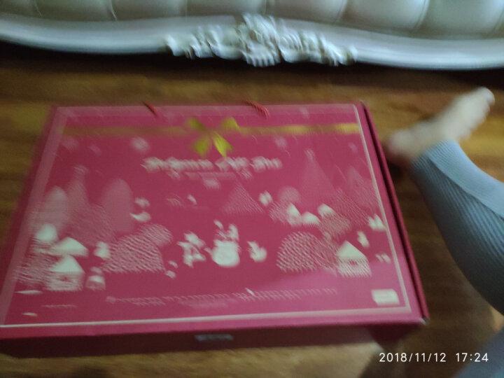 babycare儿童餐具套装双旦礼包注水吸盘碗辅食碗宝宝保温水杯新生儿礼盒 草绿色 晒单图