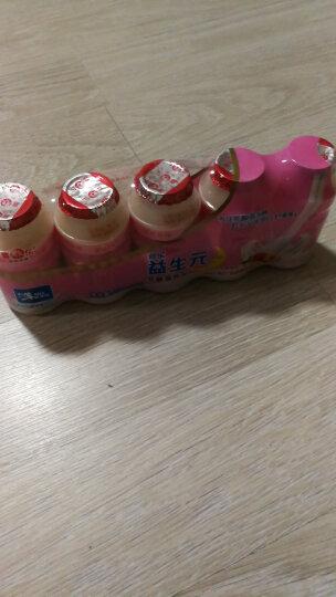 喜乐益生元乳酸菌饮品 牛奶发酵乳酸饮料水蜜桃味108ml*20瓶 晒单图