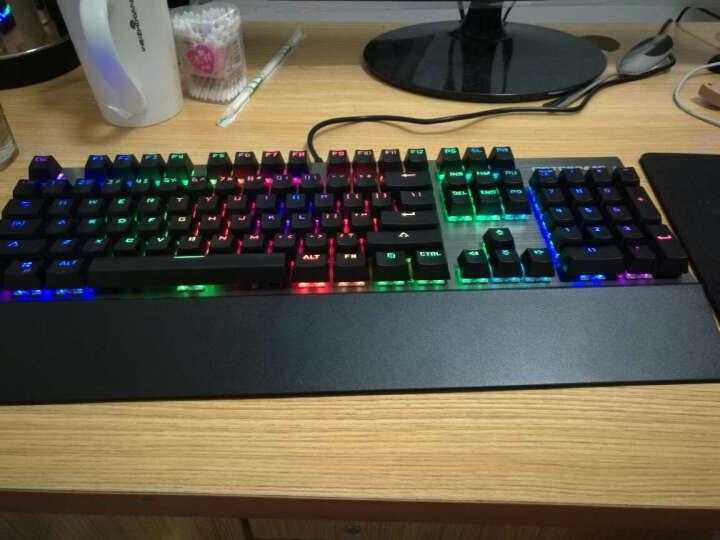 摩豹(Motospeed)CK801 RGB全彩背光 电竞机械键盘 机械青轴 晒单图