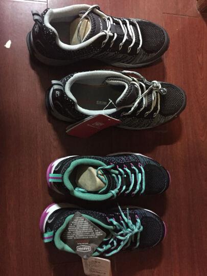 探路者(TOREAD)户外男女情侣跑鞋KFFE81336/KFFE82336 黑色/蔷薇红-女 39 晒单图