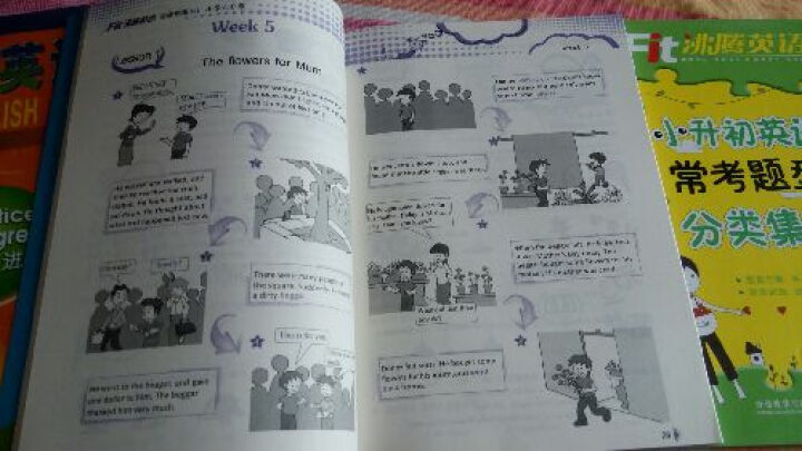 """沸腾英语:阅读训练1+1(小学六年级)/""""十二五""""规划全国重点课题(附光盘) 晒单图"""