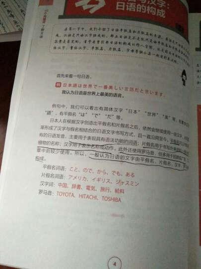 标准日语从零学:日语零起点轻松入门(附光盘) 晒单图