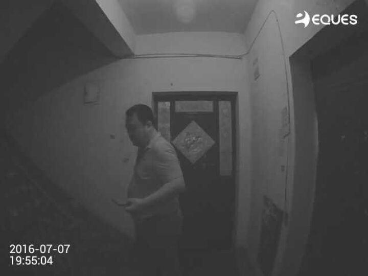 移康智能(eques) wifi叮咚mini电子猫眼无线监控对讲可视门铃摄像头家用报警器 侦测版A28+16G卡+大礼包 晒单图