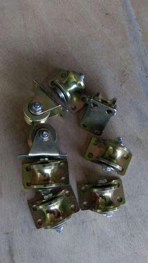 申力 彩钢1.2寸2寸2.5寸3寸4寸v型加厚角铁轨道U型圆管滑轮玻璃轨道H型轮槽轮V型轮 1.2寸直径32彩钢U型轮 晒单图