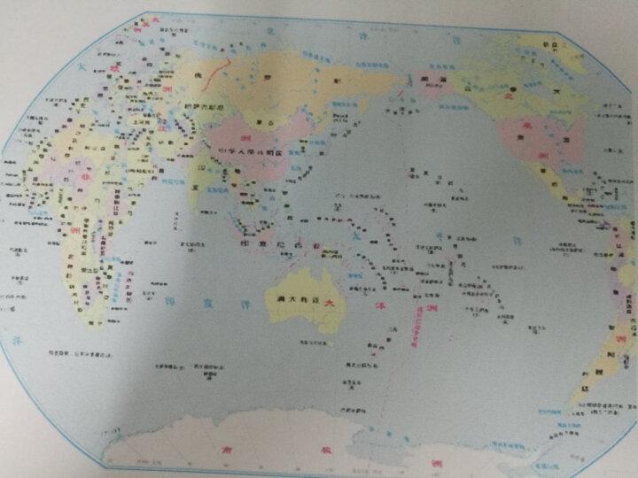 中国地形(1:22300000) 晒单图