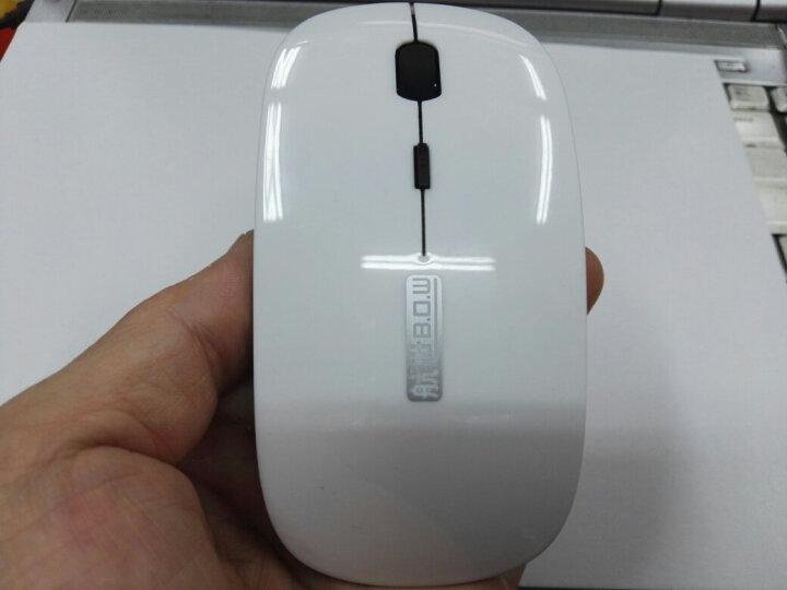 B.O.W 航世 A18 轻薄无光静音蓝牙+2.4G无线鼠标女 小蓝牙无线通用鼠标 10 蓝牙鼠标-黑(电池版) 晒单图