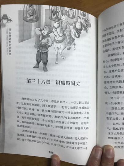 青少年版四大名著课外阅读/语文新课标(套装共4册) 晒单图