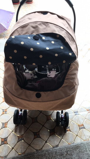 葛莱 美国graco可坐可平躺折叠高景观手推车轻便双向避震加宽婴儿BB新生儿宝宝慧智 典雅棕 晒单图