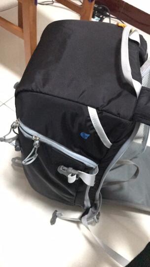 安诺格尔(ainogirl) 单反相机包轻便透气户外防盗摄影包双肩适用佳能单反双肩背包 酷黑色二代大号 晒单图
