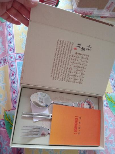 中国风创意礼品结婚礼物中国特色礼品送老外京剧脸谱餐具礼品公司商务定制礼品实用员工福利 武生三件套+礼品盒包装 晒单图