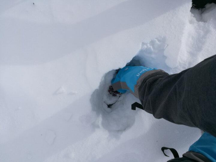 Tuban 防沙鞋套户外登山防雪雪套徒步沙漠护腿套男女款儿童滑雪防水脚套 升级款-水蓝色M 晒单图