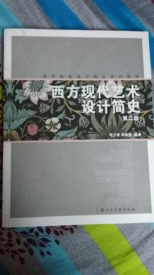 高等院校设计理论系列教材:西方现代艺术设计简史(第2版) 晒单图