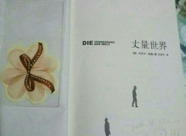 丈量世界 丹尼尔·凯曼著 好奇心比雄心走得*远逻辑 罗辑思维定制书籍 德国中学指定读物 晒单图