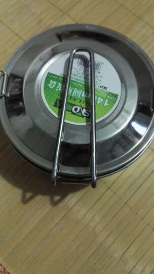 顺达304不锈钢圆饭盒 快餐杯 学生餐杯 14CM 晒单图