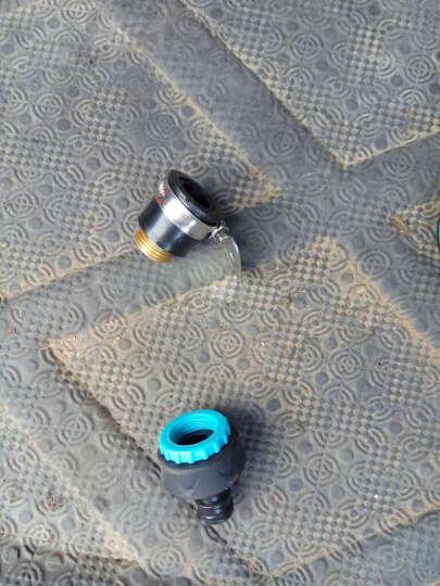 朗祺 家用水管接头套装园林浇花喷头接头  洗车配件 多功能接头118-7+4分6分水龙头接头CU128 晒单图