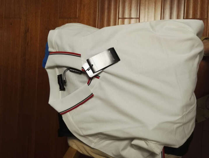 EMPORIO ARMANI 阿玛尼男士红色棉质短袖POLO衫CNM10CF 44  XL码 晒单图
