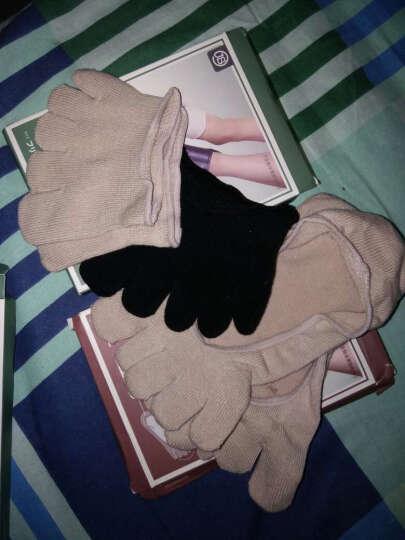 jSC隐形五指袜子女款棉浅口半掌隐形袜女士夏季高跟鞋袜子 肤色-全指全掌隐形袜 晒单图