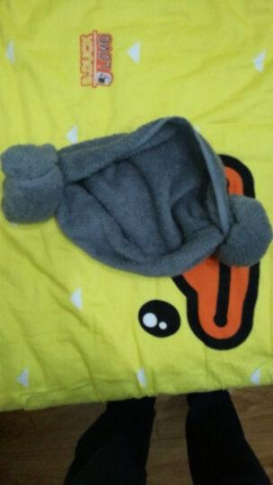 锦和家 毛巾家纺 全棉加厚非洲风情方巾毛巾浴巾三件套 礼品盒 灰色 JH16-08WFB 晒单图