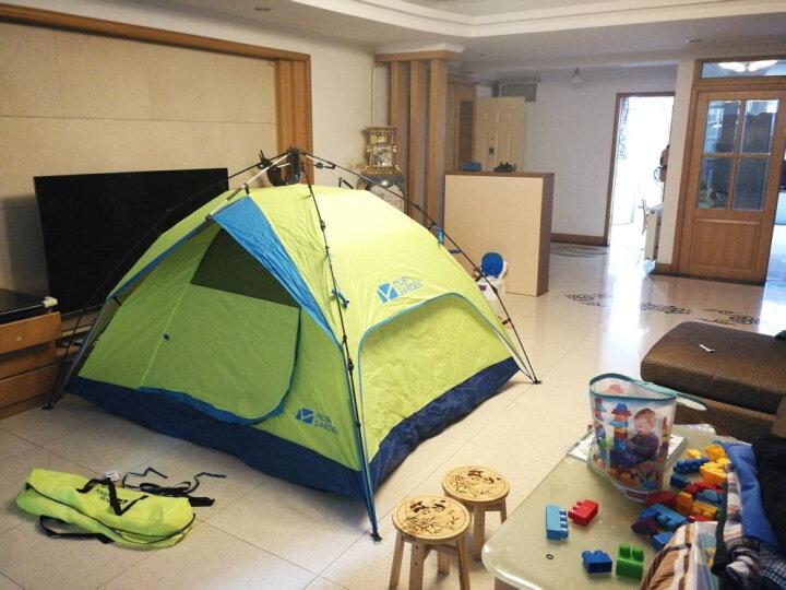 ZAK!200*200cm 野餐垫 加厚 帐篷垫 开司米草坪垫沙滩垫收纳防潮地垫地席 彩色格子zak-x610511 晒单图