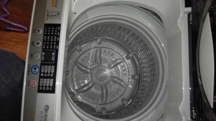 韩电(KEG)XQB62-D1518 6.2公斤波轮 全自动洗衣机 透明黑 透明黑 晒单图