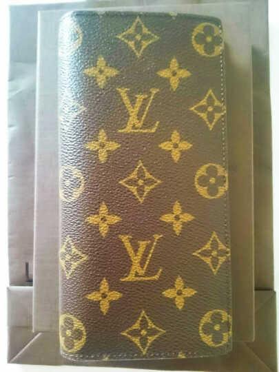 LouisVuitton路易威登LV正品男包钱包BRAZZA长款钱夹M66540 N62665 19*10*1 晒单图