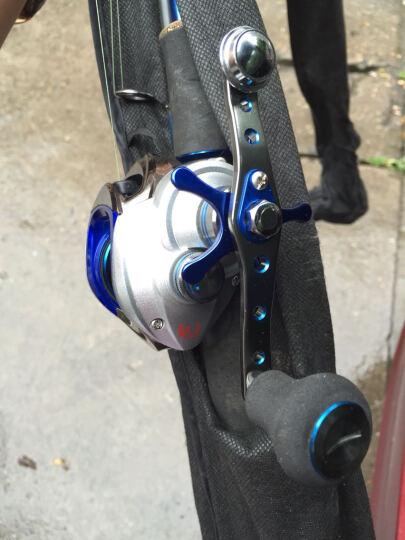 TAIGEK /泰戈11轴水滴轮 鼓式轮磁力刹车 路亚竿鱼线轮 垂钓渔具 银蓝色 右手轮 晒单图