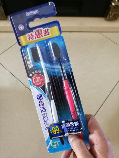 狮王(Lion)细齿洁炭能量牙刷特惠装(新老包装、颜色随机发放) 晒单图