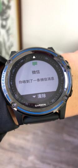 佳明(GARMIN)飞行手表 D2 Charlie航空员手表 三星定位 多功能心率表 智能导航运动手表钛合金表带款 晒单图