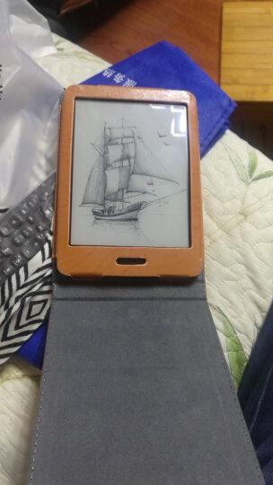 保护壳皮套电脑包适用于掌阅iReader plus/R6805电纸书电子书阅读器 橙色 保护套 晒单图
