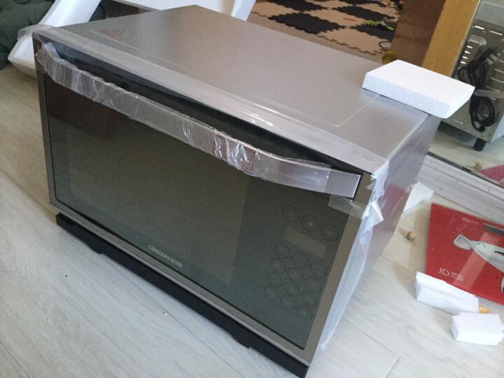 凯度(CASDON) 电蒸烤箱家用台式多功能二合一28L替代微波炉一体机ST28S-D6/A6/E6 A6-香槟金 晒单图