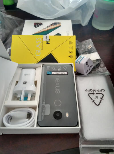 全球购 LG Nexus 5X Google 谷歌亲儿子 原生安卓6.0系统 智能4G手机 冰晶色 32GB 晒单图